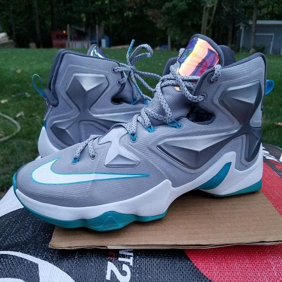 Nike Shoes   Nike Lebron 3 Blue Lagoon